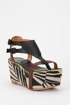 shoes like these! Matiko Bali Double-Buckle Flatform Sandal  #UrbanOutfitters