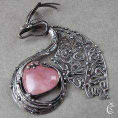 Srdíčkový drak - srdíčko je z Růženínu