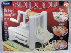 Spirooli Spiral Slicer Vegetable Noodles Curly Fries As Seen On TV #Emerson