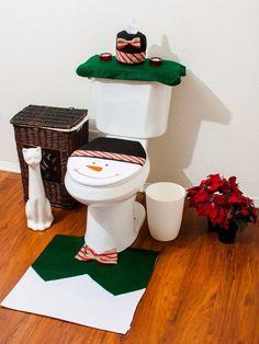 Decoración Navideña para baños - Dale Detalles