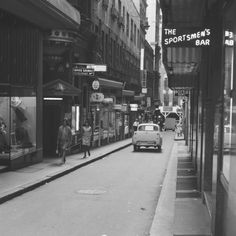Rowe St,Sydney in the mid 🌺 As Time Goes By, Historical Pictures, Old Photos, Sydney, Past, Old Things, Street View, Australia, Island