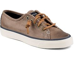 Slipped on or tied tight, the Seacoast Weathered Sneaker has a comfortable, broken-in feel, and is the perfect companion for spontaneous pursuits. Sperry Seacoast, Sperry Top Sider, Sperrys, Outdoor Gear, Me Too Shoes, Uggs, Tights, Take That, Slip On