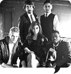 Pentatonix....freakin' amazing A Capella group.