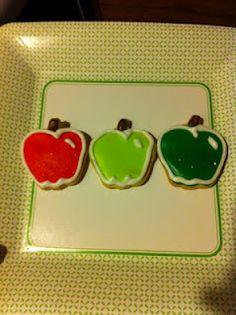 Apple sugar cookies :)