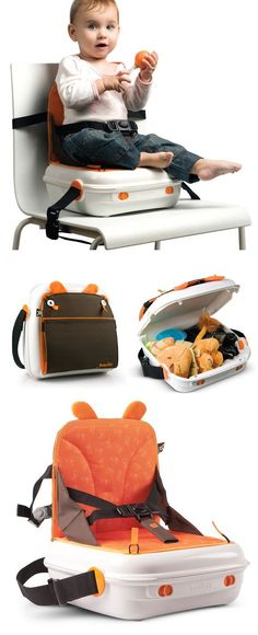Portable Booster Seat + Storage