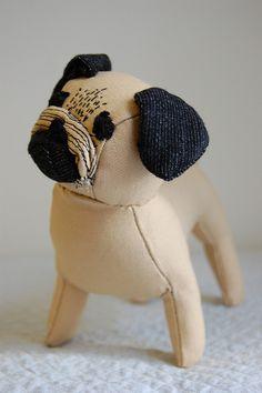 soft toy pug
