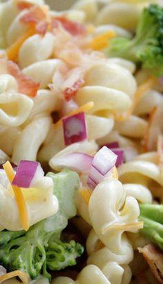 Summer Pasta Broccoli Salad