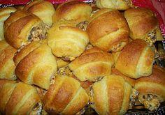 Sausage stuffed crescents