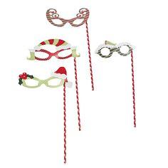 Christmas Masquerade Masks - OrientalTrading.com