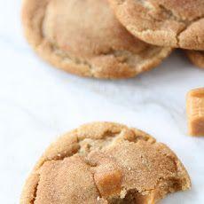 Brown Butter Salted Caramel Cookies Recipe