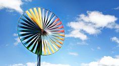 Beautiful Wind Turbine for Renewable  Electricity Generator