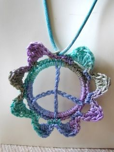 Crocheted peace