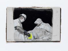 Gideon Kiefer, 'the solemn moment,' 2013, rosenfeld porcini