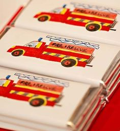 [Inspiration] Fireman Birthday - Spaceships and Laser Beams Fireman Party, Firefighter Birthday, 4th Birthday Parties, Birthday Party Favors, Birthday Ideas, Party Party, 5th Birthday, Party Time, Party Themes For Boys