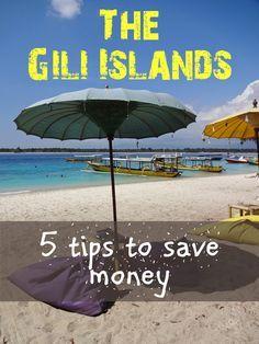 5 tips to save money on the Gili Islands. Gili Trawangan, Gili Meno and Gili Air. There is paradise for every budget.