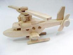 Hélicoptère jouets en bois jouets Wood toys jouets pour par EcoToy