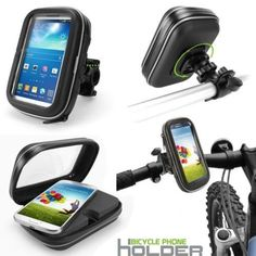 New Bike Bicycle Waterproof Phone Zipper Case Bag Pouch Handlebar Mount Holder