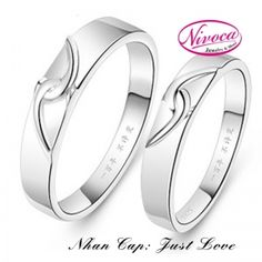 Nhẫn Cặp Just Love - Rings couple Just Love