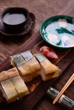 Pressed Sushi with Mackerel バッテラ