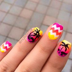 tropical nails 20