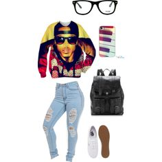 August Alsina inspired outfit