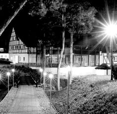 Dwór Oliwski Hotel by night # Gdansk # Poland