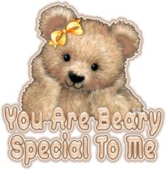 Glitter Words | Glitter Text » Friendship » Beary Special