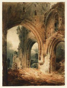 John Sell Cotman, 'Llanthony Abbey' 1801