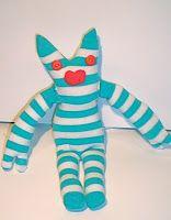 Tutorials Crafts Projects Kids Children Handmade: Sock Monster Tutorial