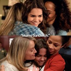 Callie got two Mama Sandwiches in the finale.