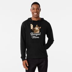 Bengal Cat Mom Cute Mother of Bengals T-Shirt For Bengal Moms and Dads by CatDaddyArt | Redbubble Kitesurfing, Rockabilly, T Shirt, Graphic Sweatshirt, Running Late, Forever, Trends, Golden Color, Black History Month