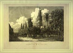 Jardin de la Mezquita en Cordova (1812)
