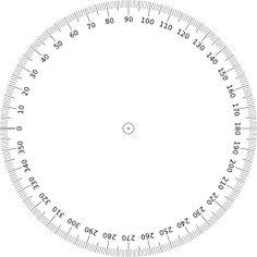 360 Degrees Angle Clip Art