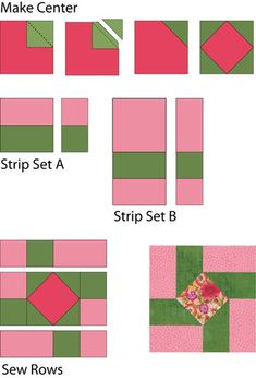 Susannah Is an Easy Quilt Block Pattern That's Perfect for Beginners: Easy Tutorial for Susannah Quilt Blocks