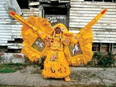 Mardi Gras glimpse: These photos are from a series of photographs by New Orleans artist and photographer Christopher Porche West, who has documented Mardi Gras Indians and their costumes for more than 15 years.