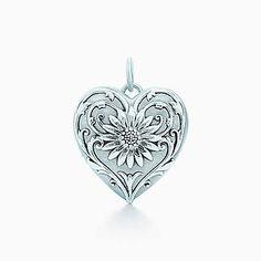 Ziegfeld Collection daisy locket in sterling silver, medium. - Tiffany & Co.