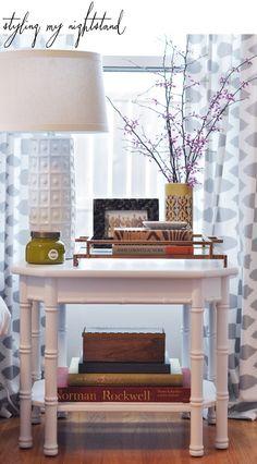 #nightstand #styling
