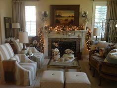 Living Room Holiday Cheer! christitowne.com: Christi Towne Designs