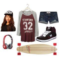style skater girl - Buscar con Google