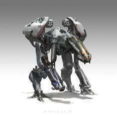 concept robots: Concept robot art by Khang Le