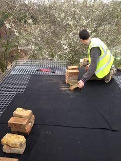 Community Build - Green Roof - Brockwell Park Community Greenhouses