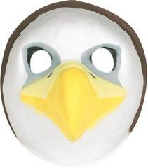 Bald Eagle Mask (Foam) at theBIGzoo.com, a toy store featuring 3,000+ stuffed animals.