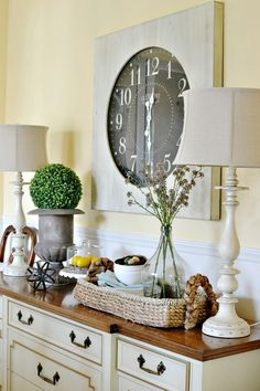 Plant ledge decorating decorating pinterest for House table decorations