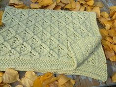 Ties that Bind lapghan (baby afghan)- Knitted- need a ravelry account (free) pattern is $2.99