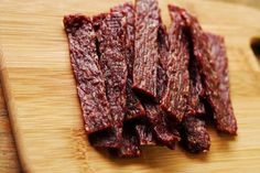 Another ground beef jerky...1 lb ground beef, fully thaw 1 packet jerky spice 1 packet jerky cure