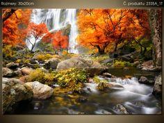 Tlačený obraz Jesenný vodopád 2335A_1T