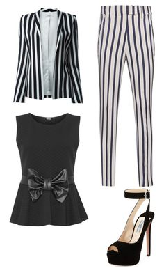 """Fancy #3"" by projectalice5 on Polyvore featuring Thierry Mugler, Dondup, WearAll and Prada"