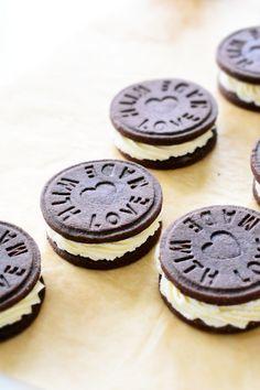 OREO Cookies - Selbstgemachte Stempelkekse
