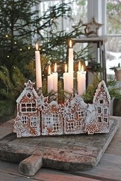 All Things Christmas, Christmas Time, Christmas Crafts, Xmas, Christmas Ornaments, Gold Christmas, Candle Centerpieces, Christmas Centerpieces, Christmas Decorations