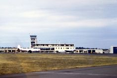 1962 Harewood Christchurch New Zealand, Air New Zealand, Commercial Aircraft, Canterbury, Old Skool, Homeland, Buildings, Street, Walkway